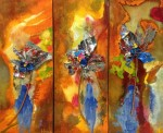 all you need is love triptych*sold