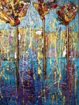 garden blue (Available at Gallery 451 inJonesboro)
